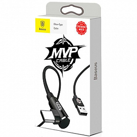 Baseus MVP Elbow Type Cable USB For Type-C 1.5A 2M Black