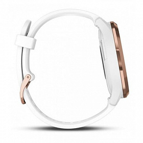 Garmin Vivomove HR Sport Rose Gold-White S/M