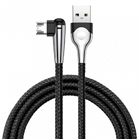 Baseus sharp-bird mobile game cable USB For Micro 2.4A 1M Black