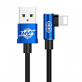 Baseus MVP Elbow Type Cable USB For IP 1.5A 2M Blue